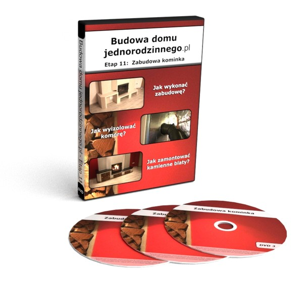 Zabudowa kominka - kurs na DVD