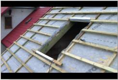 Montaż okien dachowych.