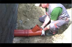 Instalacja kanalizacyjna.