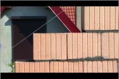 Kontury dachu.