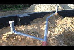 Kanalizacja - fundamenty
