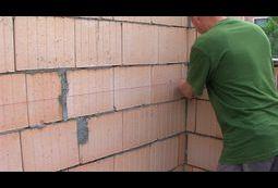 Murowanie ścian - poziomy.